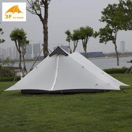 Ultralight gear online shopping - 2019 Lanshan f Ul Gear Person Ultralight Camping Tent Seasons Seasons Professional d Silnylon Rodless Tent SH190713
