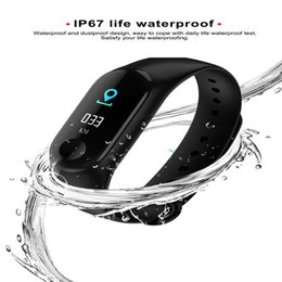 Distance Measure Lcd Australia - M3 Fashion Bracelet LCD Watch Run Step Pedometer Counter Short Distance Measuring Digital Pedometer Clock For Android iOS