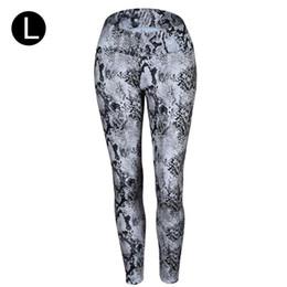 $enCountryForm.capitalKeyWord UK - 2019 New European And American Yoga Pants Snake Print Hip High Waist Sports Leggings Fashion Slim Good Quality