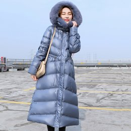 $enCountryForm.capitalKeyWord Australia - Real Natural Fox Fur Collar 2019 Women Winter Jacket Duck Down Parka Hooded Down Jacket Long Coat Korean Style Slim Outerwear