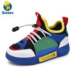 $enCountryForm.capitalKeyWord Australia - 2018 Children Sneakers Autumn New Fashion All-match Breathable Network Sport Running Shoes Boys And Girls Casual Shoes Y19062001