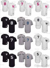 $enCountryForm.capitalKeyWord Australia - custom Men's Women Youth Majestic NY Yankees Jersey #8 Yogi Berra 7 Mickey Mantle 5 Joe DiMaggio Home white Kids Girls Baseball Jerseys