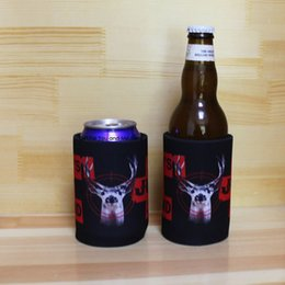 $enCountryForm.capitalKeyWord Australia - 300pcs lot Neoprene Stubby holders Customized LOGO Printing Personalized Beer Can Coolers Sublimated Coolers Bag Wedding
