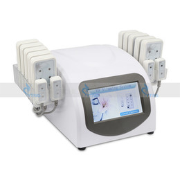 Meilleur prix Lipo Laser Minceur Liposuccion Lipolaser Machine 14 Pad Lipo Lasers LLLT Élimination De Cellulite De Diode Fat Loss Home Salon Utiliser La Machine