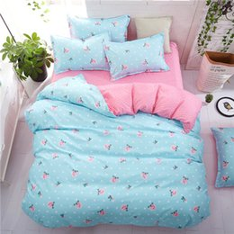 $enCountryForm.capitalKeyWord UK - Tropical Plant 4pcs Kid Bed Cover Set Duvet Cover Adult Child Bed Sheets and Pillowcases Comforter Bedding Set