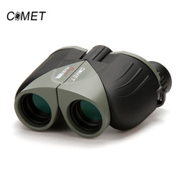 Brand Telescope Australia - Brand New 10X25 HD Wide Vision 100% optical Binoculars Compact High Optical Lens Outdoor Tourism Camping Hunting Telescope COMET