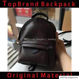 $enCountryForm.capitalKeyWord Australia - New Women S Brand-name Backpack Designer Handbag Women S Bag Pvc Leather Ladies Travel Bag