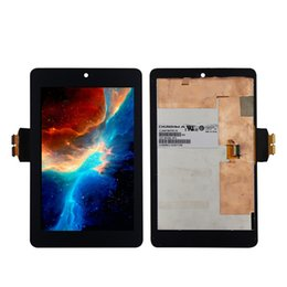 Wholesale For ASUS Google Nexus st Gen nexus7 ME370 ME370T Tablet PC Panel LCD Combo display touch screen digitizer assembly
