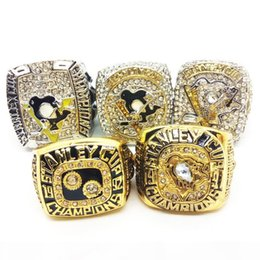 pittsburgh rings NZ - New Fashion Men's Ring 1991 1993 2009 2017 2017 pittsburgh penguins Championship ring Manufacturer fast shipping