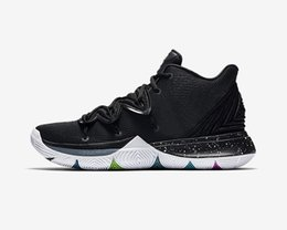 Lucky packs online shopping - Kyrie Black Magic Basketball Shoes Halloween Confetti Triple Black Power is Female Green Lucky Charms Pack Sport Sneakers With Box