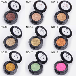 $enCountryForm.capitalKeyWord Australia - DHL Free shipping Miss Rose Brand Glitters Single Eyeshadow Glitter Eye Shadow Palette 24 Colors Eye Shadow