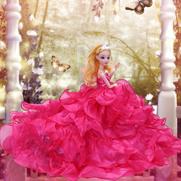 Pp Housing Australia - Facelift Suit Will Gift Box Girl House Toys Doll Lele Barbie Doll Will Tailing Wedding Dress Princess