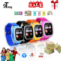 Lost Tracks Australia - 9Tong Q90 GPS Smart Watch Smartwatch For Children WIFI GPS LBS Positioning Tracking Anti-lost Watch SOS Call Kids Watches PK Q50