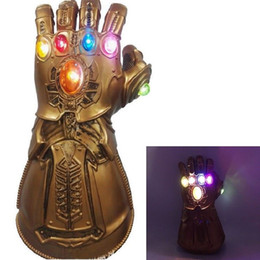 $enCountryForm.capitalKeyWord NZ - Action Figures 34cm Avenger Hand Alliance 3 4 Thanos Infinite Warfare Glove Anime Action Toy Anime Avengers Thanos Glove Halloween