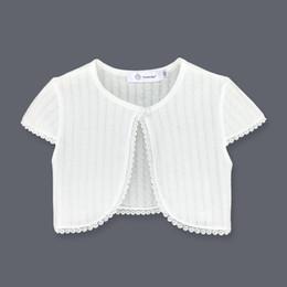 $enCountryForm.capitalKeyWord Australia - New Kids Bolero Children Short Sleeves Cotton Shrug Summer Girls Cardigan Fashion Short Jacket Girls Clothing