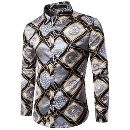 $enCountryForm.capitalKeyWord Australia - 2018 Men Fashion Luxury Business Casual Turn-down Collar Stylish Slim Fit Long Sleeve Casual Shirt Unique poitrine 18JULY28