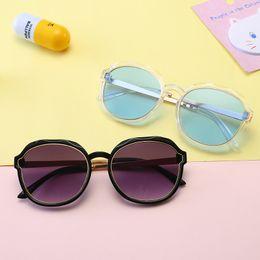 Wayfarer Metal NZ - Kids Sunglass Girls Boys Sunglasses Baby Sun Glasses Fashion Beach Supplies UV400 Protective Eyewear PC+Metal Frame Sunshades Glasses Q45