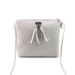 Vintage Ladies Handbags NZ - Cheap Women bags 2019Summer money Women vintage Tassel Mini PU Handbag Shoulder Bag Ladies Purse bolsos mujer verano#8