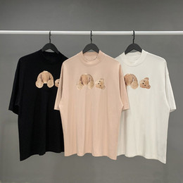 Wholesale animal print t shirt women for sale – custom High quality T shirt cotton short sleeved fashion men and women short T shirt couple models men and women cotton printed short T