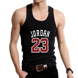 $enCountryForm.capitalKeyWord Australia - 2018 Fashion Golds Gyms Brand Singlet PRINT 23 Bodybuilding Stringer Tank Top Men Fitness Vest Muscle Guys Sleeveless Vest