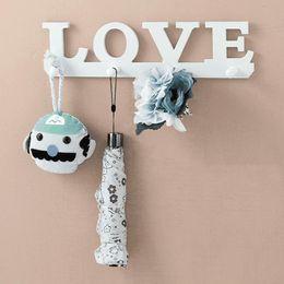 Home Key Rack Australia - Bedroom wall Rack DIY Organization Wood Key Holder Storage Shelf Home Decor kids Room wall