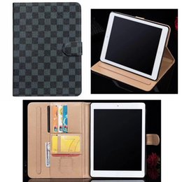 waterproof mini wallet Australia - TPU Luxury Wallet Tablet PC Case for For ipad pro 12.9 Air3 pro10.5 ipad2 3 4 5 6 mini1 2 3 4 Leather Card Holder Skin Cover Hull Shell