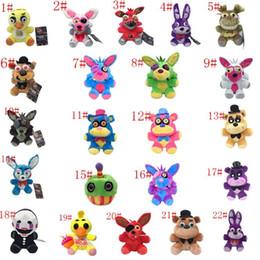 $enCountryForm.capitalKeyWord Australia - 18-25cm FNAF Freddy Fazbear Plush Toys Five Nights At Freddy's Golden Bear Nightmare Cupcake Foxy Balloon Boy Clown Stuffed Dolls