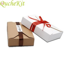 $enCountryForm.capitalKeyWord Australia - 20pcs Envelope Design Kraft Paper Candy Box Wedding Baby Shower Christmas Birthday Gift Packaging Box Creative Bow Gift Boxes