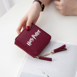 $enCountryForm.capitalKeyWord Australia - Harri Potter Kpop Accessories Women Wallets Short Zipper Card Girl Wallet And Purses Mini Bags Stylish Cases
