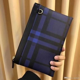$enCountryForm.capitalKeyWord Australia - Luxury Designer Men Wallets Casual Business Men Clutch Bag High Quality Zipper Envelope Long Wallet Slim Handbag Leather Male Purse