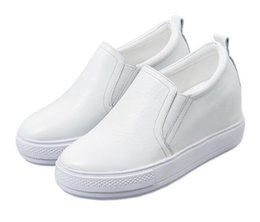$enCountryForm.capitalKeyWord NZ - free shipping Female spring summer 2019 new hollowed-out slope shoes with thick soles for students fashion casual shoes 2 color selection