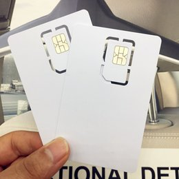 Discount card programmable - 10PCS Writable Programmable Blank SIM USIM Card 4G LTE WCDMA GSM Nano Micro SIM Card 2FF 3FF 4FF for Telecom Operator