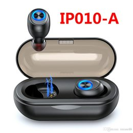 $enCountryForm.capitalKeyWord Australia - Capsule Wireless Bluetooth Headphones TWS Earbuds Bluetooth 5.0 Earphones Deep Bass Hi-Fi Stereo Sound Sport Headsets IP010-A For Smartphone