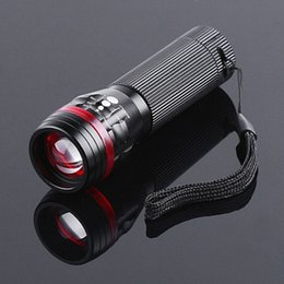 China Led Flexible Focusing Bowling Aluminium Alloy Flashlight Outdoors Lighting Cycling Camp Waterproof Light Flashlight suppliers