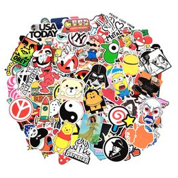 China 500Pcs Glossy No Repeat Stickers Car Skateboard Motorcycle Bicycle JDM Laptop Wall Graffiti Vinyl Die Cut Stickers Pack suppliers