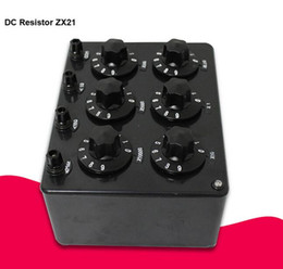 Precision resistors online shopping - ZX21 Precision Plastic Variable Decade Resistance Resistor Box For Physical Electricity Teaching Instrument R to kR