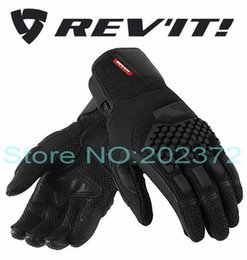 Sand motorcycleS online shopping - 2016 Summer NEW REV IT SAND PRO desert motorcycle riding gloves motocross Motorbike glove black and red color size S M L