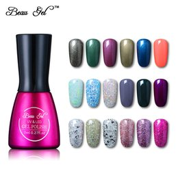 $enCountryForm.capitalKeyWord Australia - manicure nail Beau 7ml Pure Gel Manicure Long-lasting Soak Of UV Lamp Gel Varnish Nail Polish for Christmas Gift