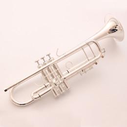 Tromba in Sib professionale Stradivarius Bach TR190S-37 Bocchino per strumenti musicali placcato argento in Offerta