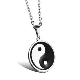 bagua necklace Australia - Chinese Tai Chi Bagua map Retro necklace Glasses Pendant Necklace Women Girls Sweater Chain Gift