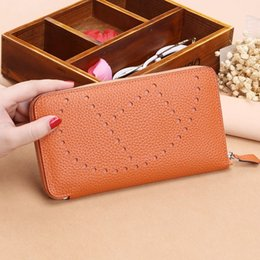 $enCountryForm.capitalKeyWord Australia - 2019 Popular Litchi pattern womens wallets and purses 100%Genuine leather Long ladies wallet Money Bags clutch Coin Card Holder
