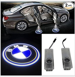 door projector lights for cars Australia - 2019 Hot Sale Ghost Shadow Light Welcome Laser Projector Lights LED Car Door Logo For BMW