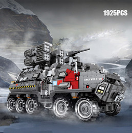 $enCountryForm.capitalKeyWord Australia - Sembo The Wandering Earth Military Heavy duty troop carrier Military Technic building block army Armored Truck legoing bricks toys