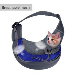 Dog Bucket Australia - Carrier For Cat Pet Dog Sling Backpack Bag Breathable Travel Transport Carrying Bag for Kitten Puppy Small Cats Animals Handbags