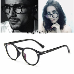 Wholesale NEW Vintage Retro Round Eyeglasses Stylish For Women Glasses Fashion Men Optical eye glasses Frame Eyewear