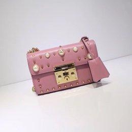 $enCountryForm.capitalKeyWord Australia - Luxury Handbags Chain Shoulder Bag Designer Crossbody Bag Famous Brand Women Handbags Hot Sale Fashion Vintage Handbags Women Bags Pink