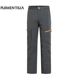 7b893d28d4a5 Outdoor Fishing Pants UK - Puimentiua 2019 Summer Men s Hiking Pants  Breathable Quick Drying Outdoor Lightweight