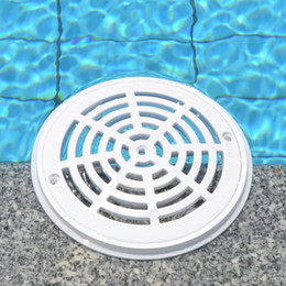 cleaning blocks Australia - Cover Accessories Filter Floor Drain Easy Clean Anti-blocking Swimming Pool Round Anti-Corrosion Main Drainage Water Pipe ABS