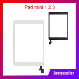 ipad mini screen adhesive Australia - For ipad mini 1 2 mini 3 mini 1 2 3 Touchscreen Glass Screen Panel Digitizer Adhesive Glue Sticker Replacement With IC Conector