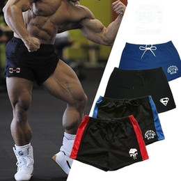 Discount white gym shorts - Seven Joe 20 style dropshipping New Brand men's shorts gym fitness bodybuilding workout shorts cotton summer Breath